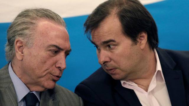 Maia acusa ministros de Temer de querer enfraquecer o DEM