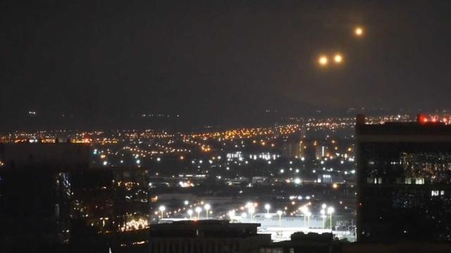 Vídeo mostra luzes estranhas avistadas no céu do Hawaii