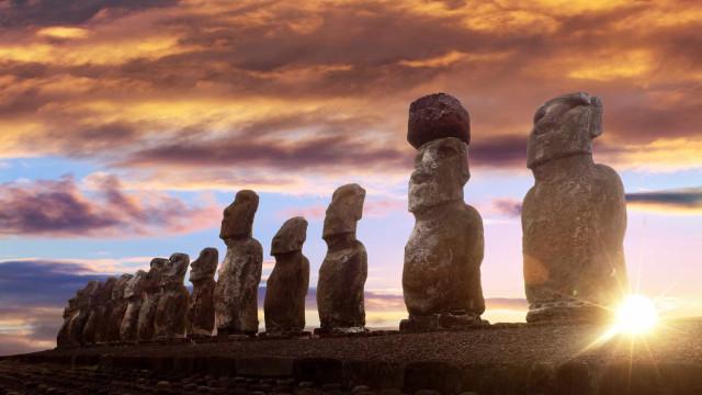 Conheça as curiosidades e mistérios que envolvem a Ilha de Páscoa