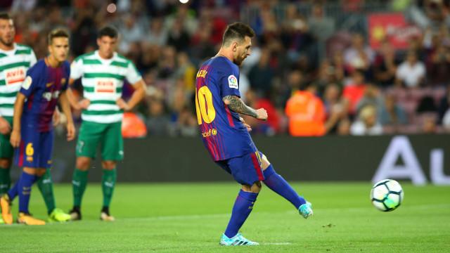 Messi tem melhor média de gols em início de temporada no Barcelona