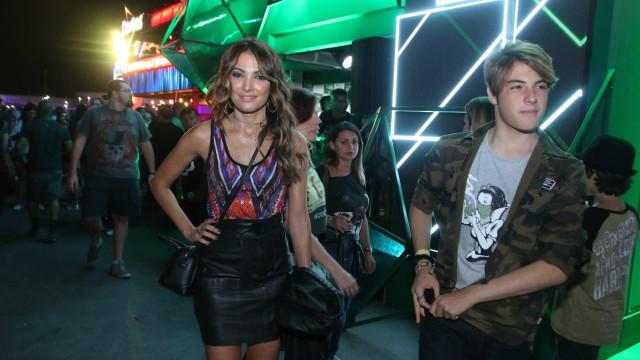 Filho de Patrícia Poeta rouba a cena no RiR: 'Tenho ciúmes dela'