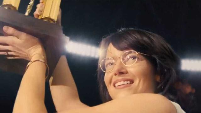 Confira novo trailler de 'A Guerra dos Sexos', estrelado por Emma Stone