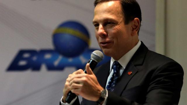 Doria nega ser pré-candidato a governo de SP pelo PSDB