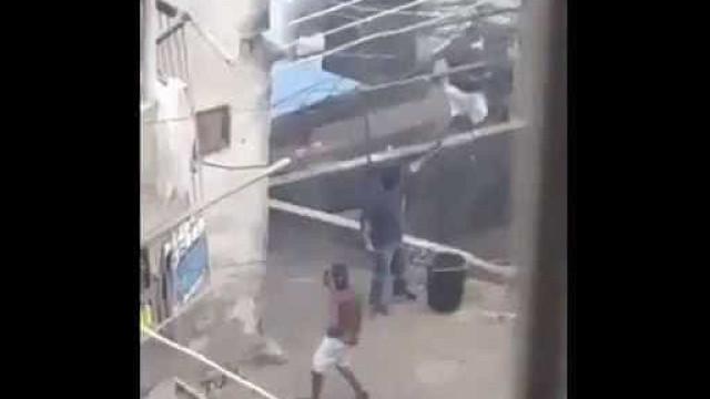 Vídeo mostra tiroteio e confronto entre traficantes na Rocinha