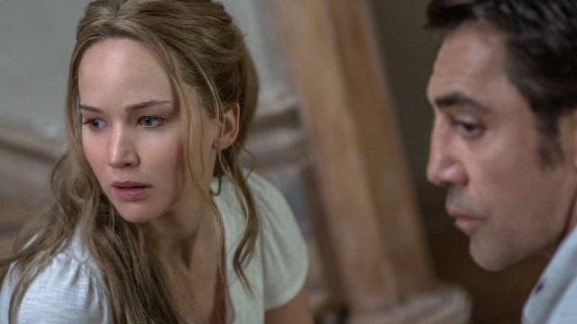 Jennifer Lawrence sobre 'Mãe!': 'Nunca fiz nada tão difícil'