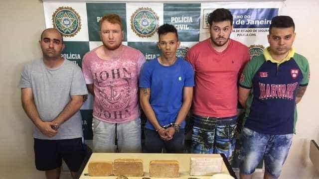 Polícia prende quadrilha de brasileiros e paraguaios com cocaína