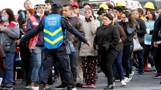 Forte réplica de 6,2 de magnitude atinge Cidade do México