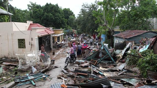 Após furacão Maria, 73 regiões da República Dominicana estão isoladas
