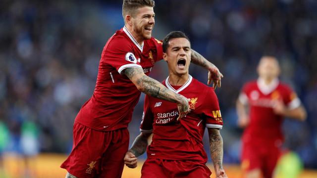 Coutinho marca, dá assistência e garante vitória do Liverpool