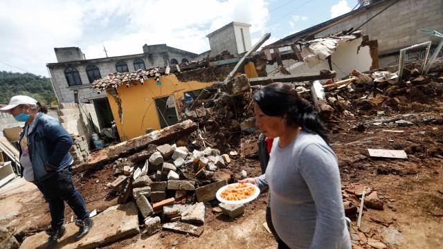 México sofre novo terremoto neste domingo, o terceiro em cinco dias