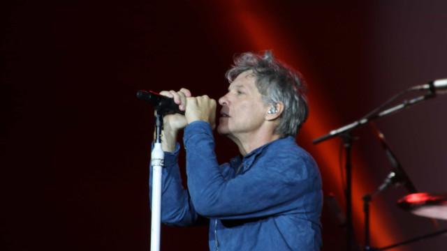 Fãs de São Paulo têm show de Bon Jovi que Rock in Rio queria