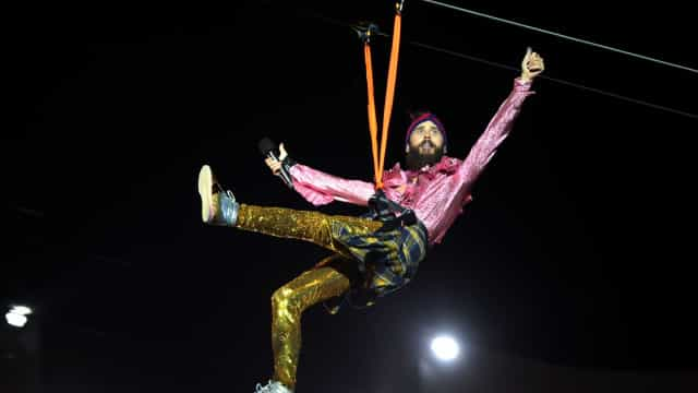 'Passei a tomar açaí após deixar o crack e a cocaína', diz Jared Leto