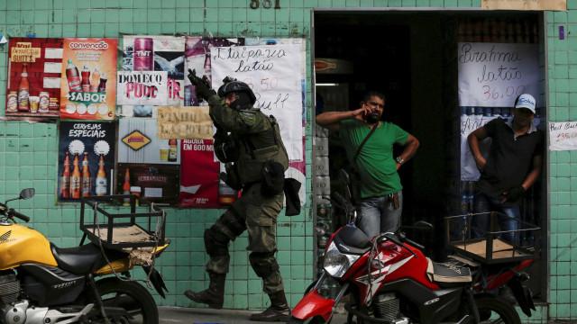 Veja as principais imagens dos 4 dias de confrontos na Rocinha