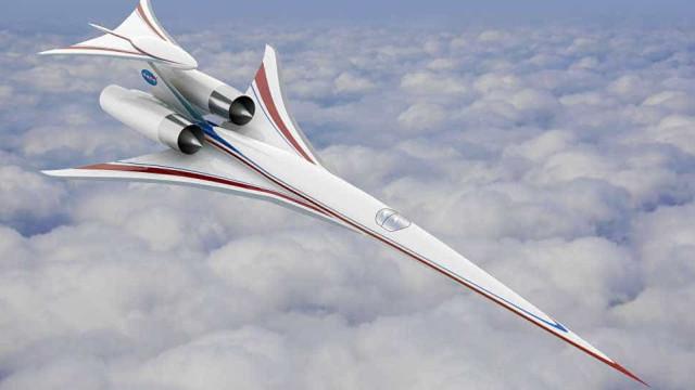 NASA espera testar protótipo aeronave supersônica silenciosa