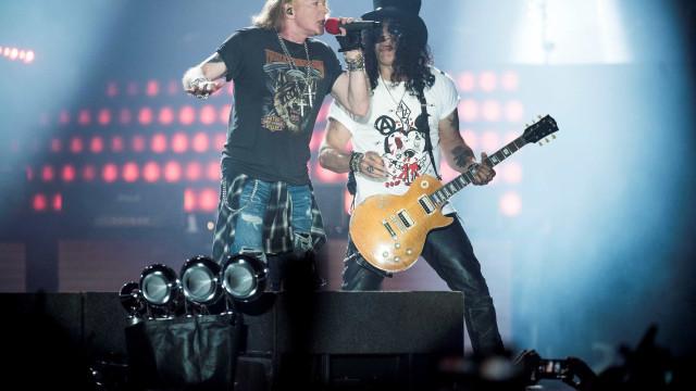 Guns N' Roses encerra nesta terça o festival São Paulo Trip