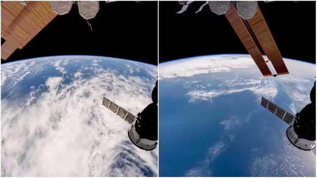 Astronauta da NASA mostra como a terra é vista do espaço