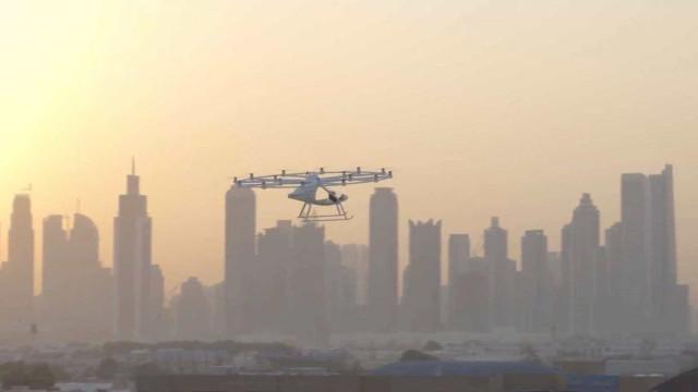 Primeiro voo de táxi aéreo autônomo é feito em Dubai