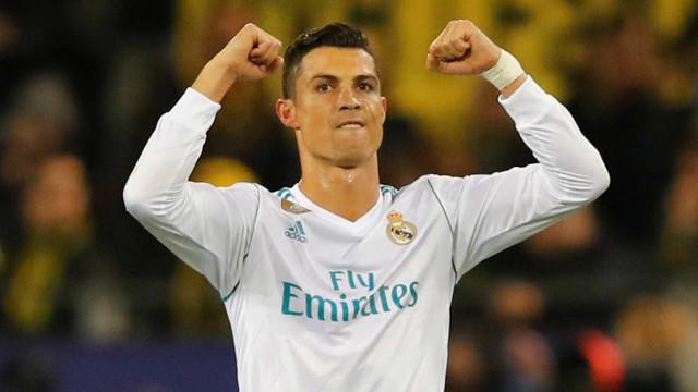 A 2ª celebridade europeia mais bem paga se chama Cristiano Ronaldo