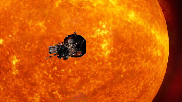 Sonda da Nasa a caminho do Sol envia as primeiras imagens
