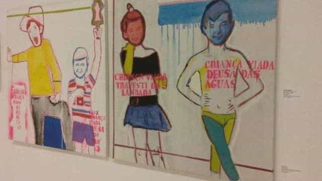Artista que fez obra da 'criança viada' ganha mostra individual em SP