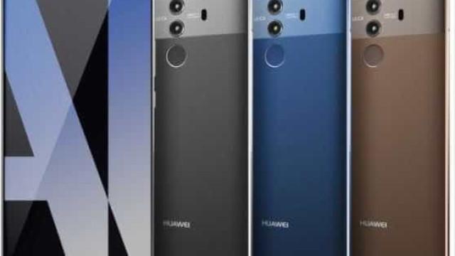 Imagens vazadas do Huawei Mate 10 surpreende internautas
