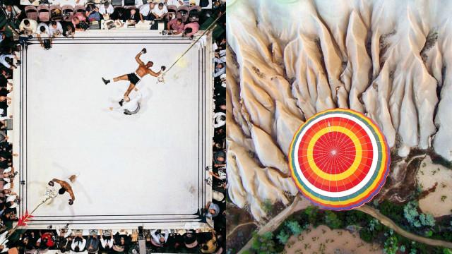 Veja algumas das imagens aéreas mais belas do mundo