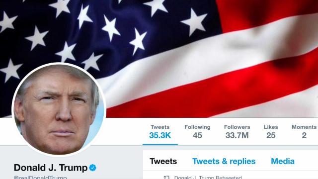 Trump supera Papa e é líder com mais seguidores no Twitter