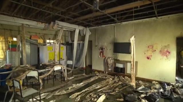 Professora de creche incendiada não resiste; seis crianças morreram