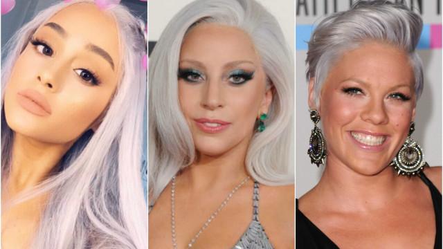 Inspire-se: veja os famosos que aderiram ao cabelo cinza