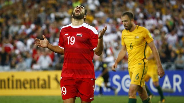 Austrália vence e encerra sonho da Síria de ir à Copa