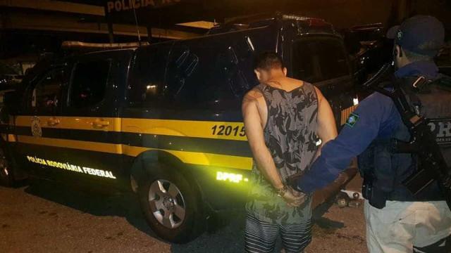 Primo de Fernandinho Beira-Mar é preso pela PRF durante abordagem no RJ