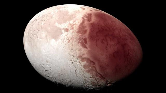 Planeta anão é capturado por telescópios com acessório brilhante