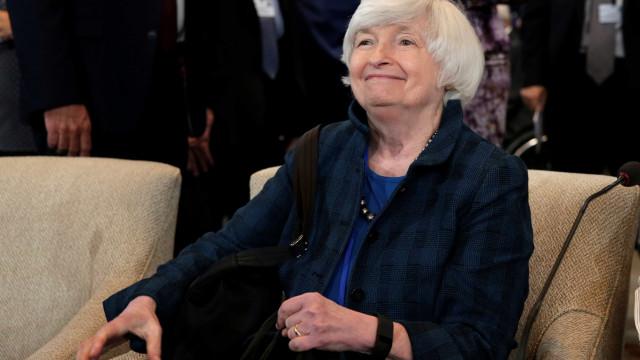 Inflação baixa é 'maior surpresa na economia dos EUA', diz Yellen