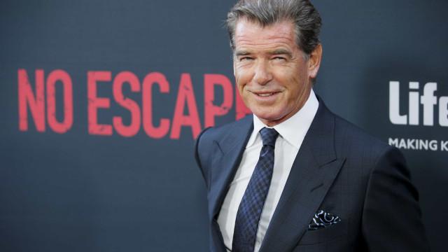 Ex-James Bond,  Pierce Brosnan estreará filme com Jackie Chan