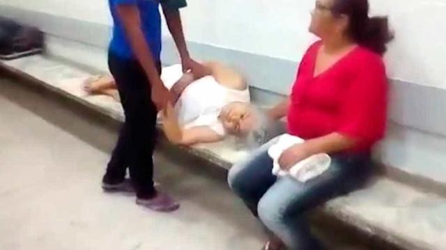 Enfermeiro que nega auxílio a idosa é afastado de hospital