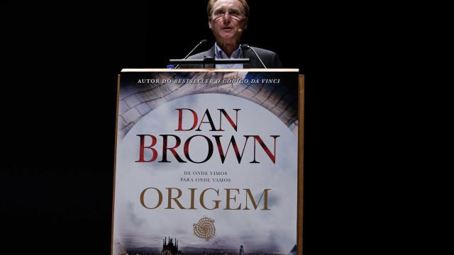 Dan Brown vendeu mais de 16 mil cópias de 'Origem' no Brasil