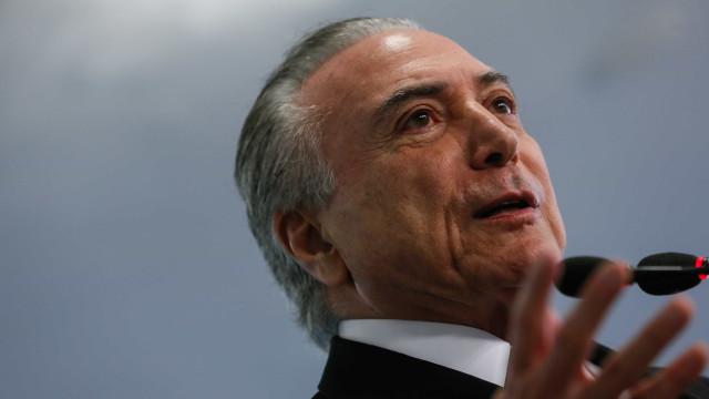 'Nada atrapalha' governo em votação de denúncia, diz Temer