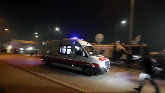 Atropelamento em massa deixa cinco mortos na Ucrânia