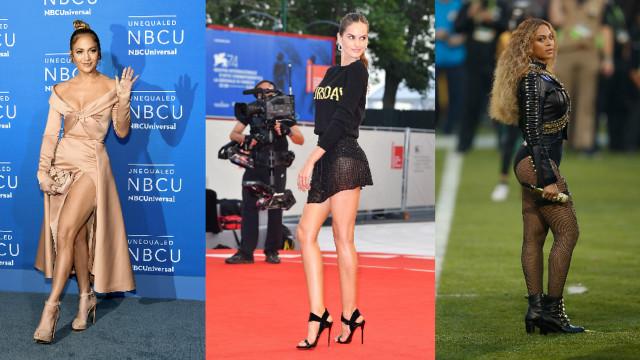 As famosas que são donas das pernas mais lindas
