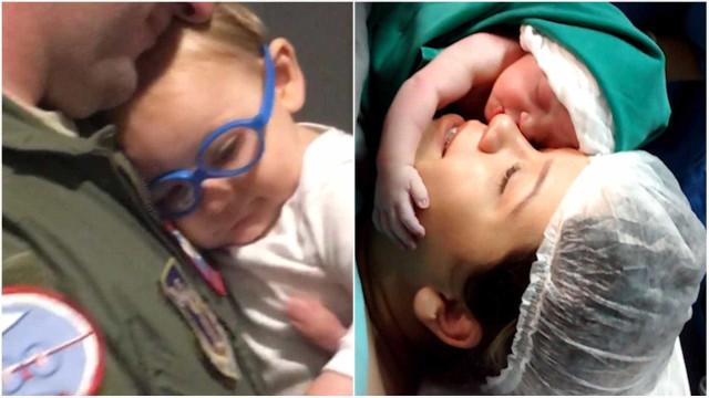 Bebês amigáveis: veja crianças que já nascem esbanjando simpatia