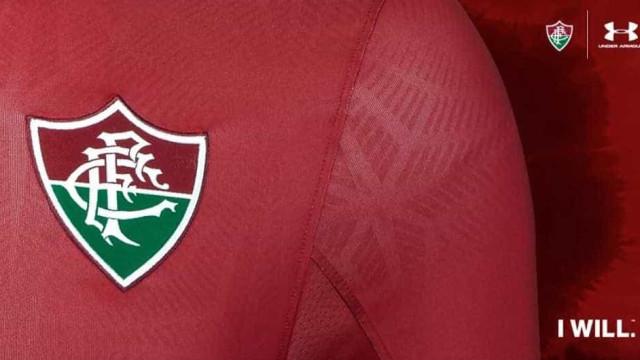 Fluminense divulga detalhe do 3º uniforme