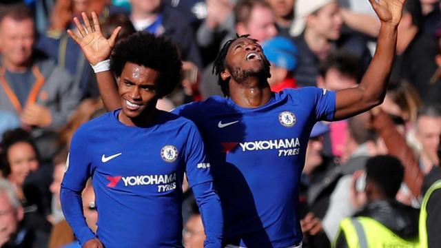 Em jogo com duas viradas, Chelsea vence 'sensação' Watford no Inglês
