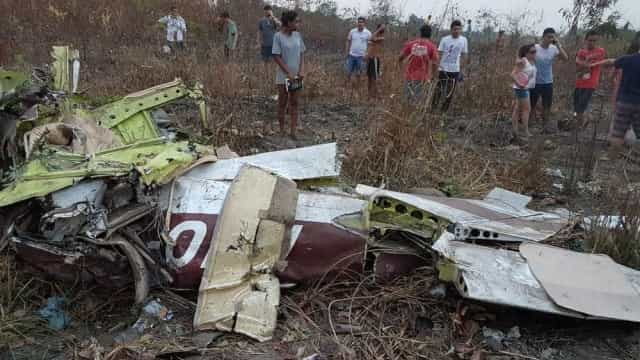 Avião monomotor cai no Pará e deixa cinco mortos
