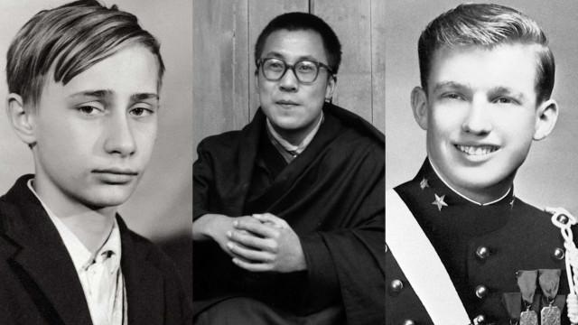 Veja como eram estes líderes mundiais na adolescência