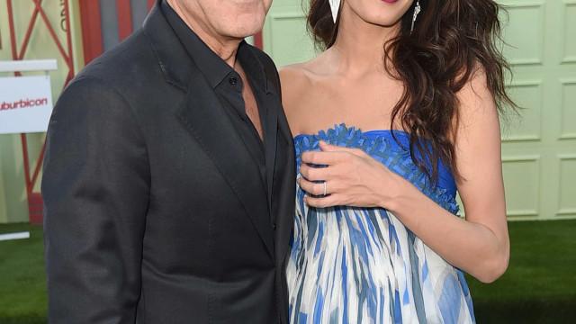 George Clooney aluga ilha privada para o aniversário de Amal