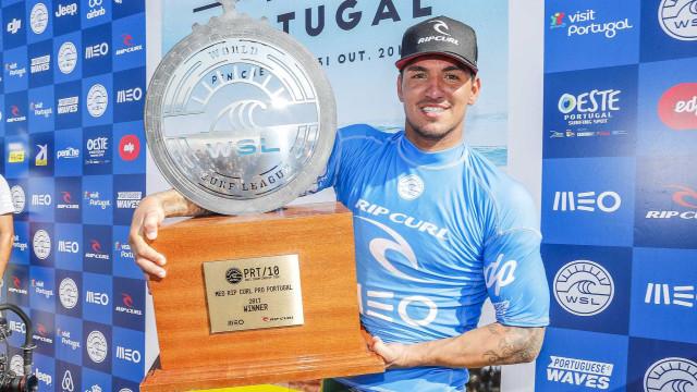 Medina é campeão em Portugal e brigará pelo título mundial no Havaí