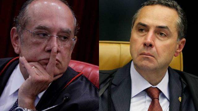 Gilmar e Barroso voltam a protagonizar embate durante julgamento no STF