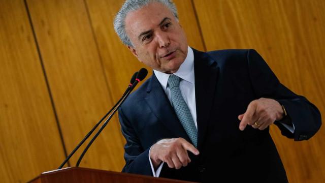 Temer sobre leilões do pré-sal: 'Brasil mostra que atrai interesse'