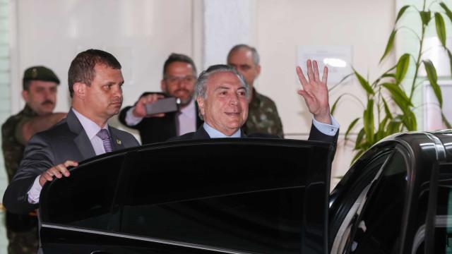 Planalto confirma que Michel Temer vai para o Sírio-Libanês