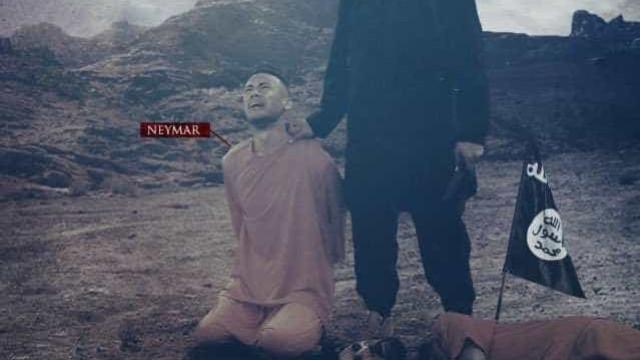 Neymar vira vítima em nova ameaça do Estado Islâmico à Copa de 2018